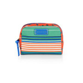 Striped Cosmetics Pouch