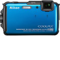 NIKON - Coolpix AW110 16.0-Megapixel Digital Camera