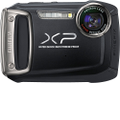 Fujifilm - FinePix XP100 14.0-Megapixel Digital Camera - Black