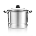 IMUSA Covered Aluminum Steamer Pot, 12 Qt.