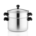 Farberware Classic Stainless Steel Covered Steamer Pot, 3 Qt.