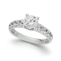 My Diamond Story 18k White Gold Ring, Diamond (2 ct. t.w.) Engagement Ring