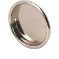 Prime-Line 2-in Plated Polished Chrome Sliding Closet Door Pull