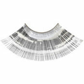 Silver Tinsel False Eyelashes