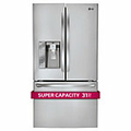 LG 31 Cu. Ft. Stainless Steel French Door Refrigerator