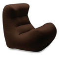Extra Large Form and Function Chocolate Bean Bag Chair Cover