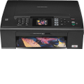 Brother - Inkjet Multifunction Printer - Color - Plain Paper Print - Desktop
