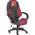Wild Sales - Washington Redskins Leather Executive Chair