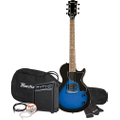 Maestro by Gibson - Single Cutaway Electric Guitar - Blue