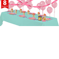 Disney Princess 1st Birthday Party Supplies Basic Party Kit