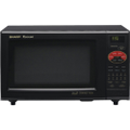 Sharp - R820BK Convection Microwave Oven - Black