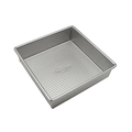 "USA Pan Aluminized Steel 8"" Square Brownie and Cake Pan"