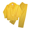 Boss 3-Piece Extra Large Yellow Plastic Unlined Rainsuit