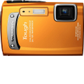 Olympus - TG-310 14.0-Megapixel Digital Camera - Orange