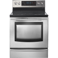 "Samsung - 30"" Self-Cleaning Freestanding Double Oven Electric Convection Range - Stainless-Steel"