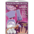Salon Express - Nail Art Stamping Kit - Purple