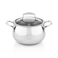 Belgique Stainless Steel Soup Pot, 3Qt.