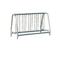 Ultra Play 60-in L x 26-in D x 37-in H 10-Bike Galvanized Steel Commercial Bike Rack