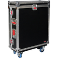 Gator Cases - Flight Case for PreSonus StudioLive 24-Channel Mixers - Black