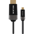 Belkin - 6' Micro HDMI-to-HDMI Cable - Black