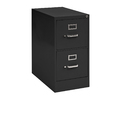 edsal Sandusky Vertical Files Black 2-Drawer Filing Cabinet
