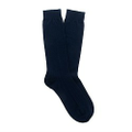 Ribbed cotton dress socks