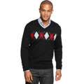 Club Room Sweater, Merino Blend Argyle Sweater