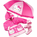 Western Chief Kids Rain Gear, Girls Hello Kitty Polka Dot