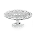 Martha Stewart Collection Glassware, Optic Cake Stand