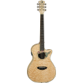 Luna Guitars - Fauna Hummingbird 6-String Parlor-Size Acoustic/Electric Guitar