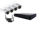 Lorex - VANTAGE 4-Channel, 4-Camera Indoor/Outdoor Wireless Surveillance System
