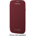 Samsung - Flip-Cover Case for Samsung Galaxy S III Mobile Phones - Red