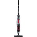Eureka - RapidClean Ion Bagless Cordless 2-in-1 Handheld/Stick Vacuum - Metallic Silver/Radiant Red