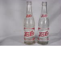 2 Pepsi=cola Glass Bottles - Pepsi Cola Bottling Co.