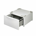 "LG 14"" White High Drawer Pedestal for LG Front-Load Washers and Dryers"