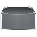 "LG Graphite Steel Pedestal for 29"" Wide Front-Load Washers and Dryers"