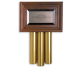 Heath Zenith Solid Beech with Mahogany finish Doorbell