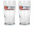 2 Pack 20oz Pub Glass