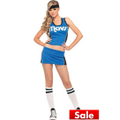 Adult Sexy Dallas Mavericks Costume Deluxe