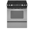 "4.5 Cu Ft Oven Capacity, True Convection Cooking System, 2- 6"", 1- 6/9"", & 1- 9/12"" Elements, Hidden Bake Element, 2 Full & 1 Split Oven Racks"