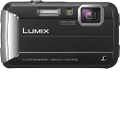Panasonic - LUMIX TS25 16.1-Megapixel Digital Camera