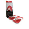 Zori Orthotic Red Sandals, Size 7