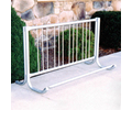 Gared Sports 10-ft L 9-Bike Galvanized Steel Commercial Bike Rack