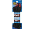 Shoe Gear Waxed Stay-Ty Boot Laces 72 Inches Black