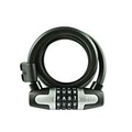WordLock WLX 12mm 6ft Bike Lock - Black