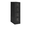 edsal Sandusky Vertical Files Black 4-Drawer Filing Cabinet