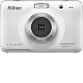 Nikon - Coolpix S30 10.1-Megapixel Digital Camera - White