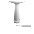 KOHLER 28-in H Vitreous China Pedestal Sink Base
