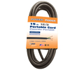 Coleman Cable 15-ft 12 AWG Black SJEOOW Power Cord