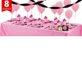 Super Stylish Sweet 16 Party Supplies-Basic Party Kit-For 8 Guests